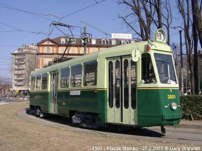 Un tram storico di Torino